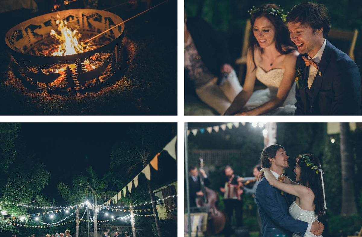 night time garden party - wedding functions