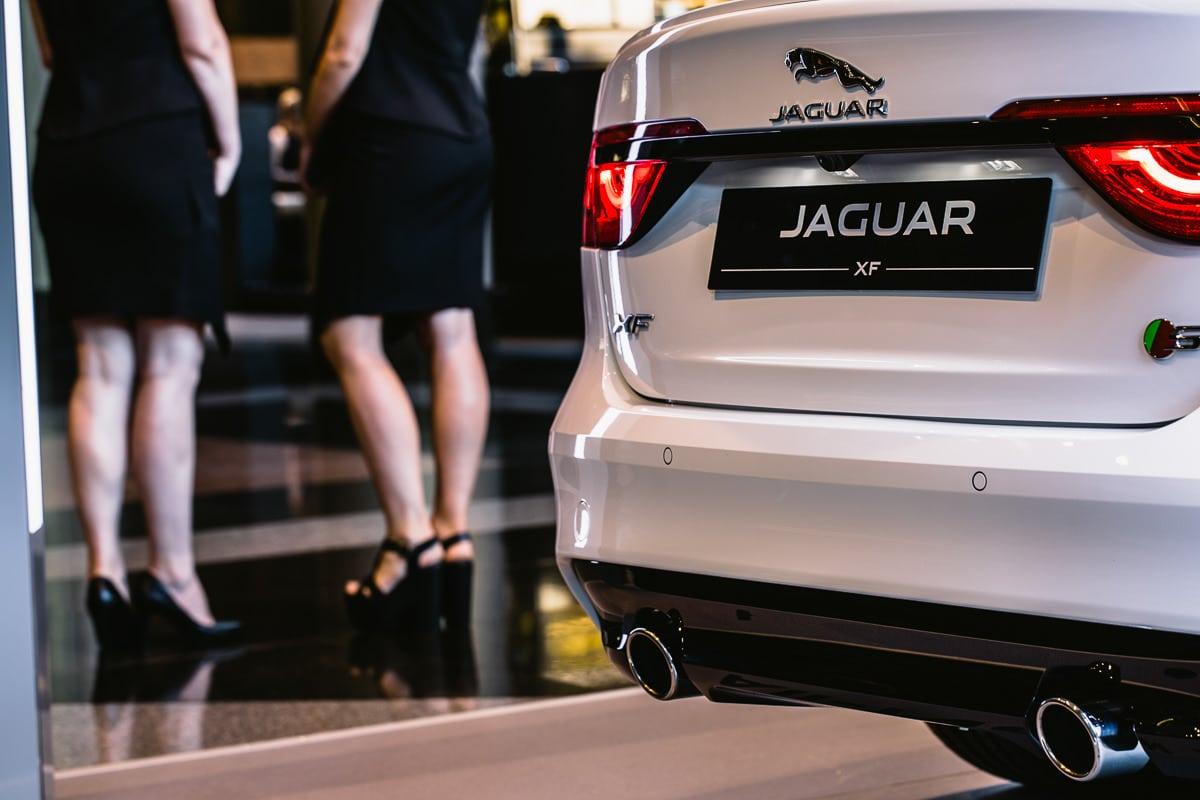 new car launch - luxury limousine