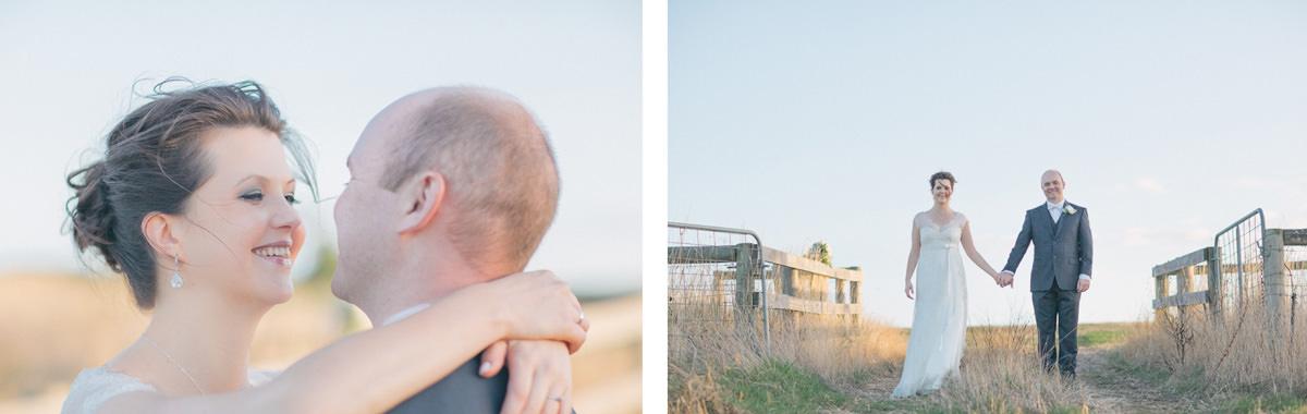 farm wedding photo