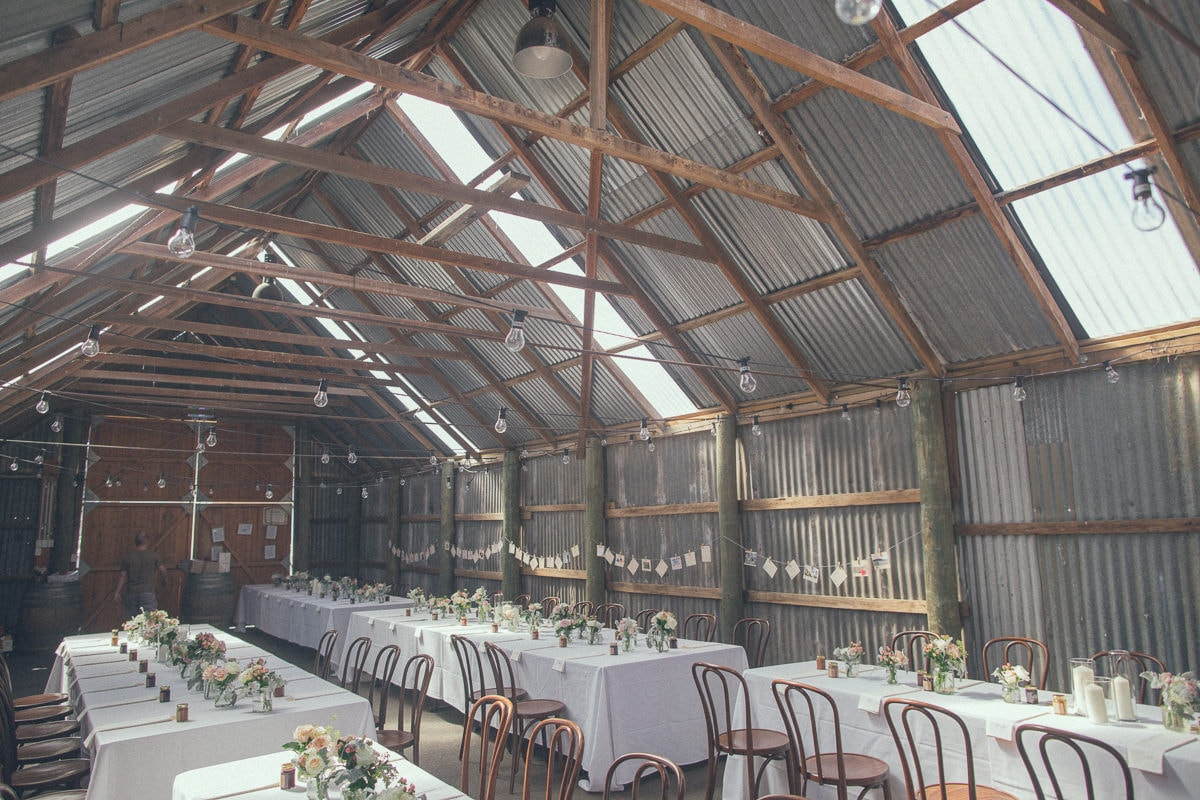 empty barn - melbourne best wedding venues