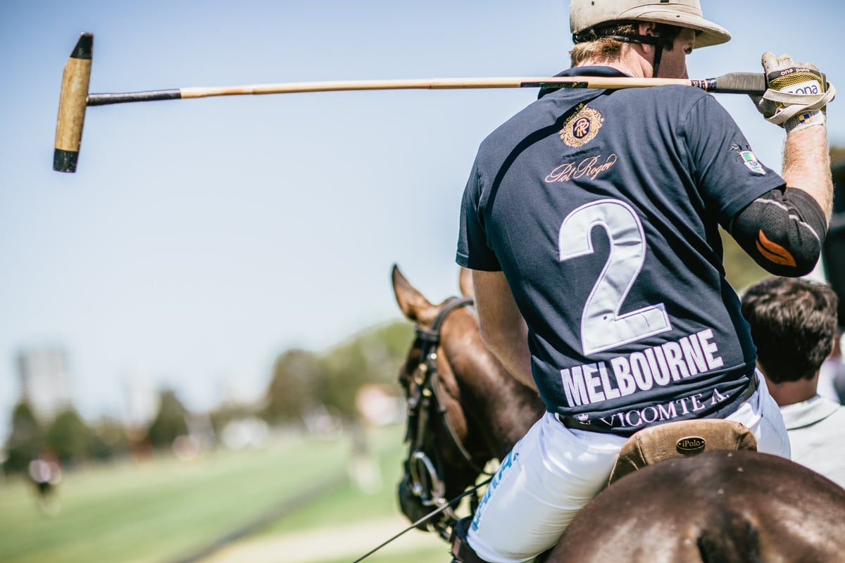 Melbourne Polo Player - Albert Park