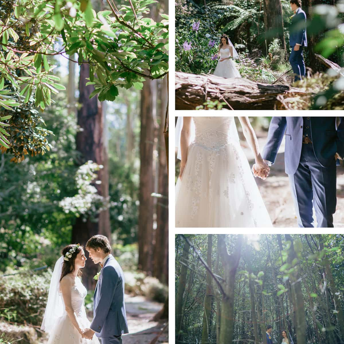 stunning outdoor wedding photographs by melbourne photographer andreas weiss - creative and candid photography