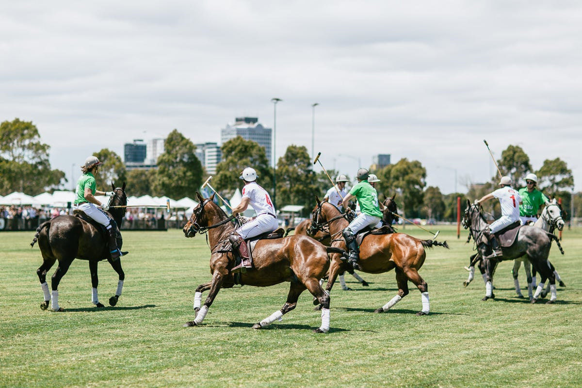 Polo game in Melbourne