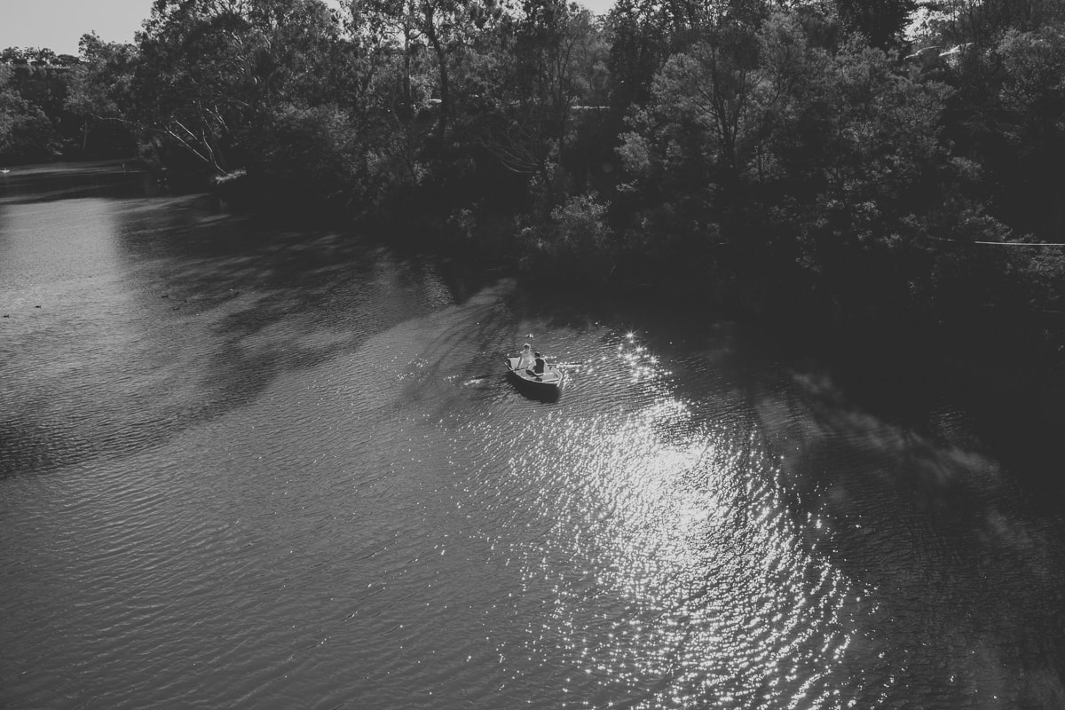 rowing boats - yarra river