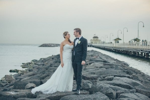 best st kilda beach wedding photographer - wedding locations in Melbourne