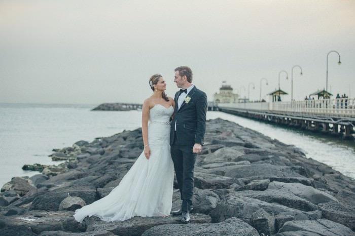 best st kilda beach wedding photographer - wedding locations in Melbourne