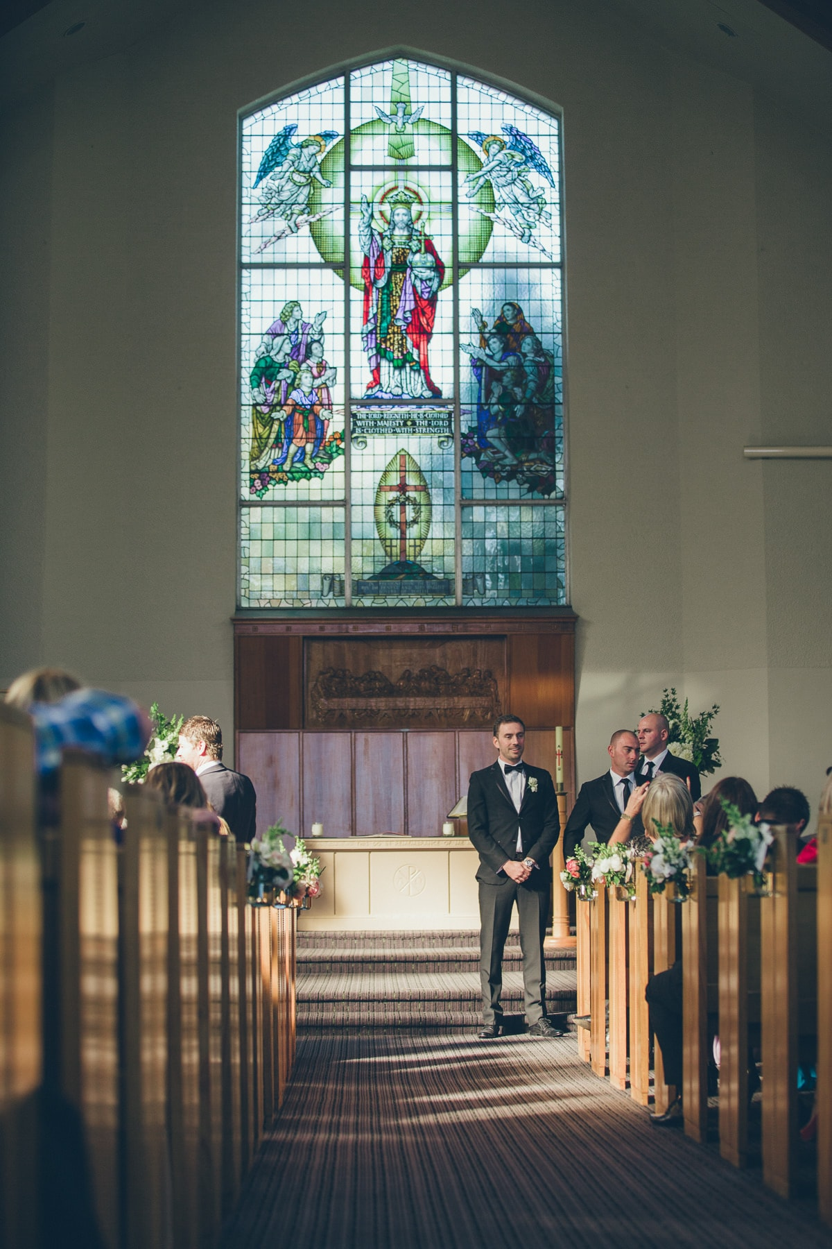 church wedding photographer in kew