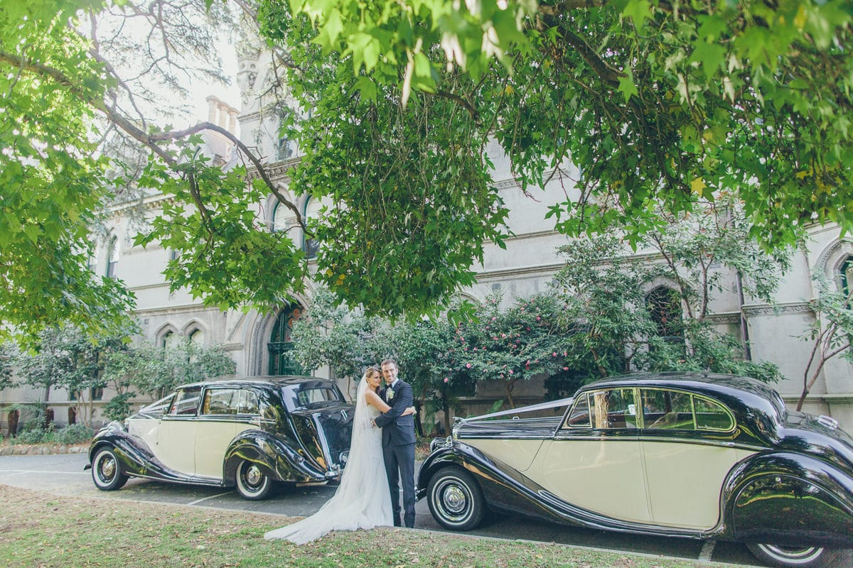 luxury celebrity wedding in melbourne - rolls royce