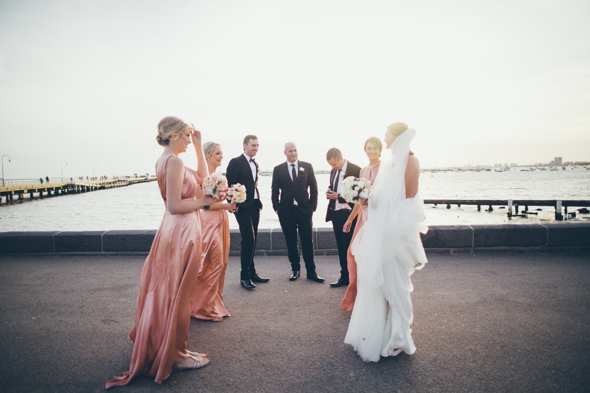 melbourne suburbs for beach weddings - albert park , port melbourne - best photographer