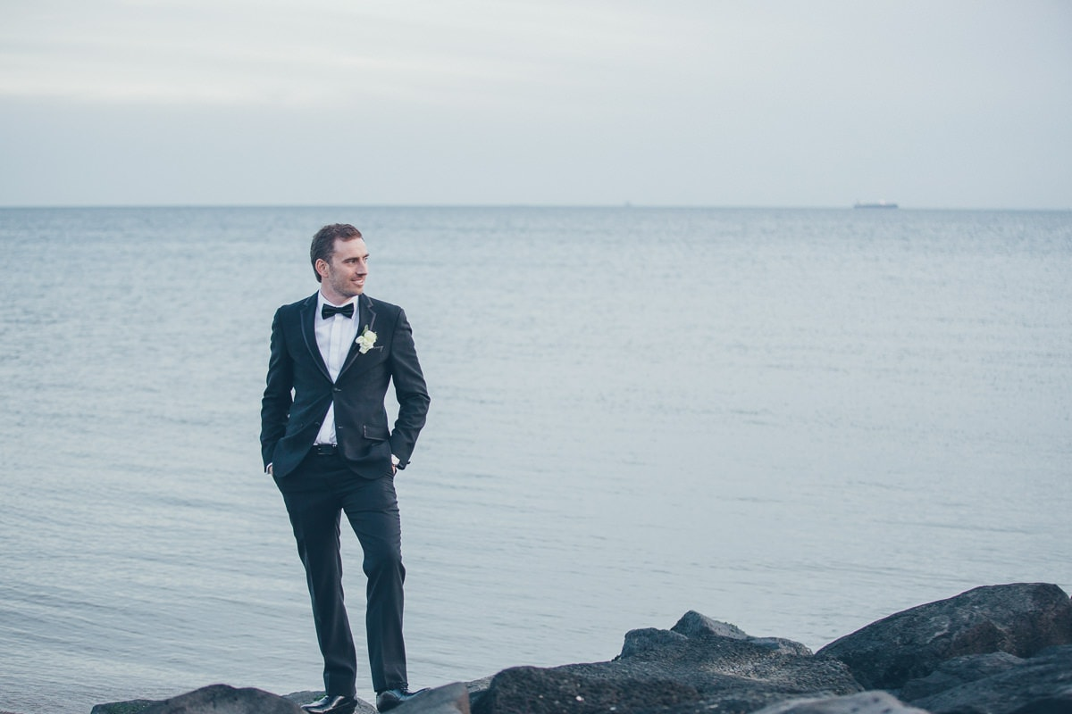 saint kilda beach wedding photographer - mellbourne weddings