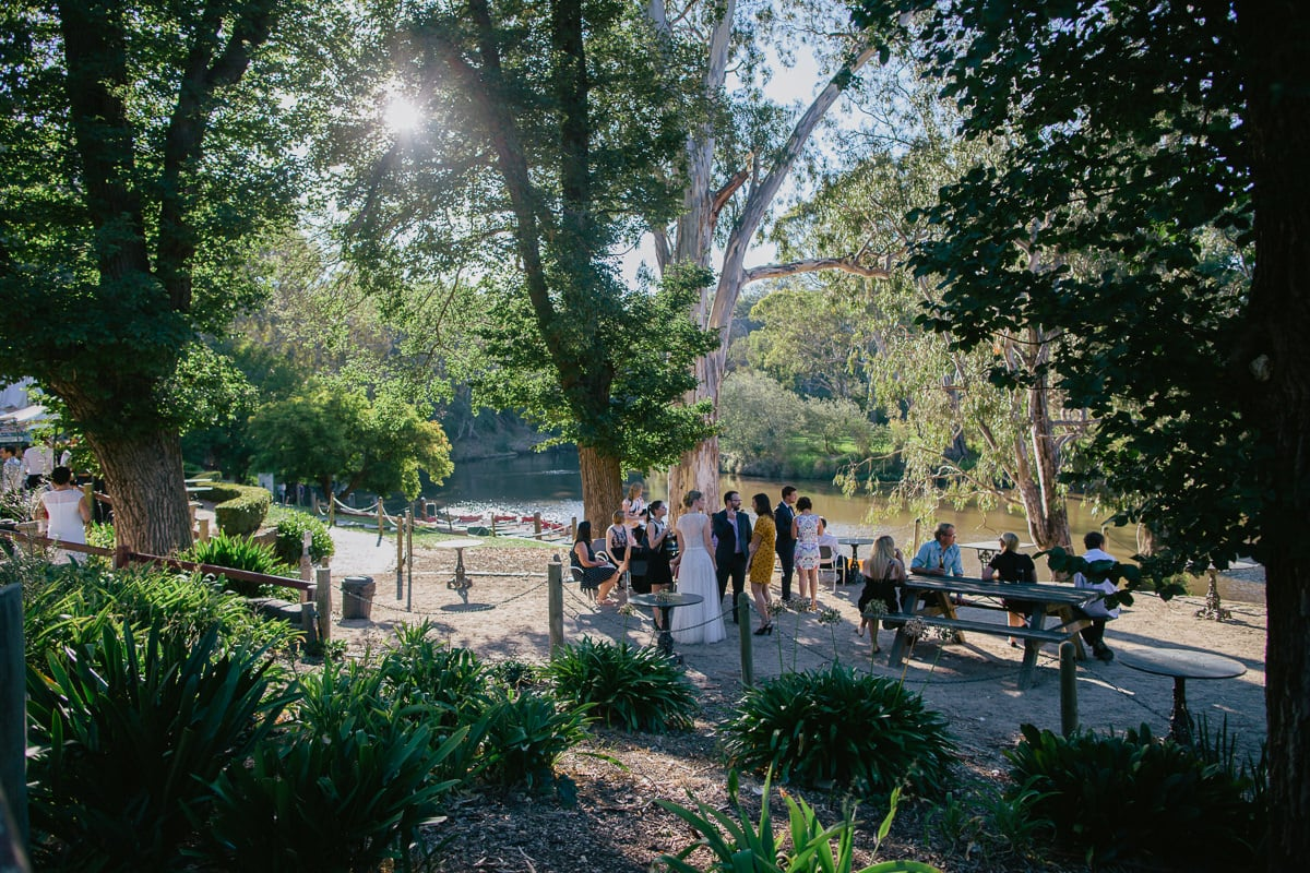 park weddings at the yarra