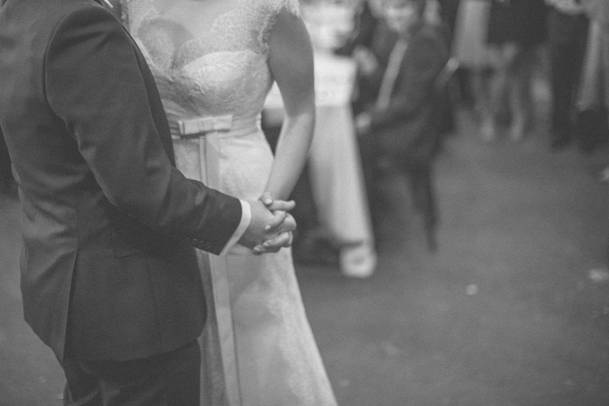 love and emotion at barn wedding