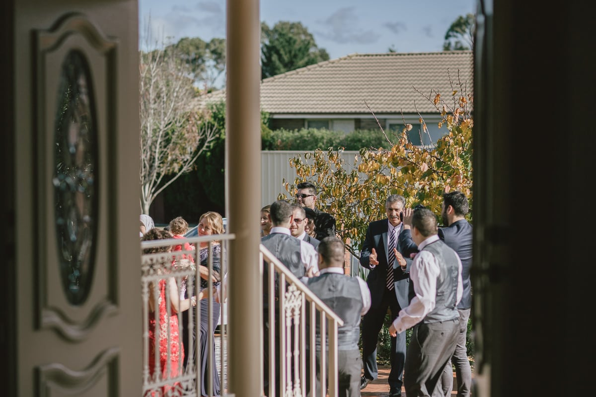 dancing in the garden - before the wedding - northern suburbs wedding photographer