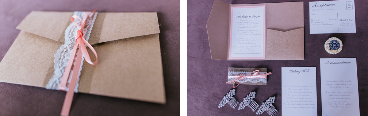creative wedding invite
