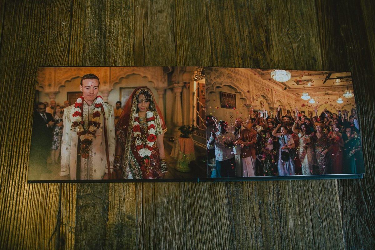 Full size Wedding album Photography