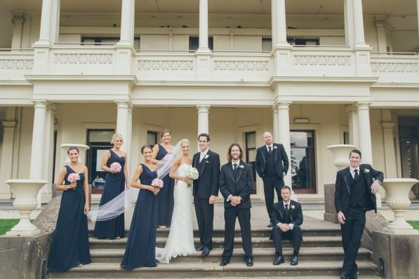 creative family shots at melbourne wedding