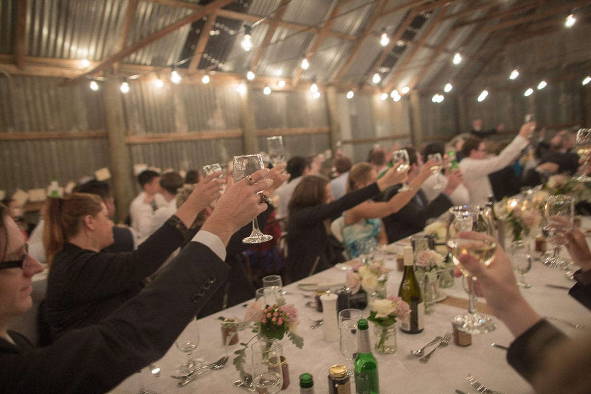 cheers - wedding toast