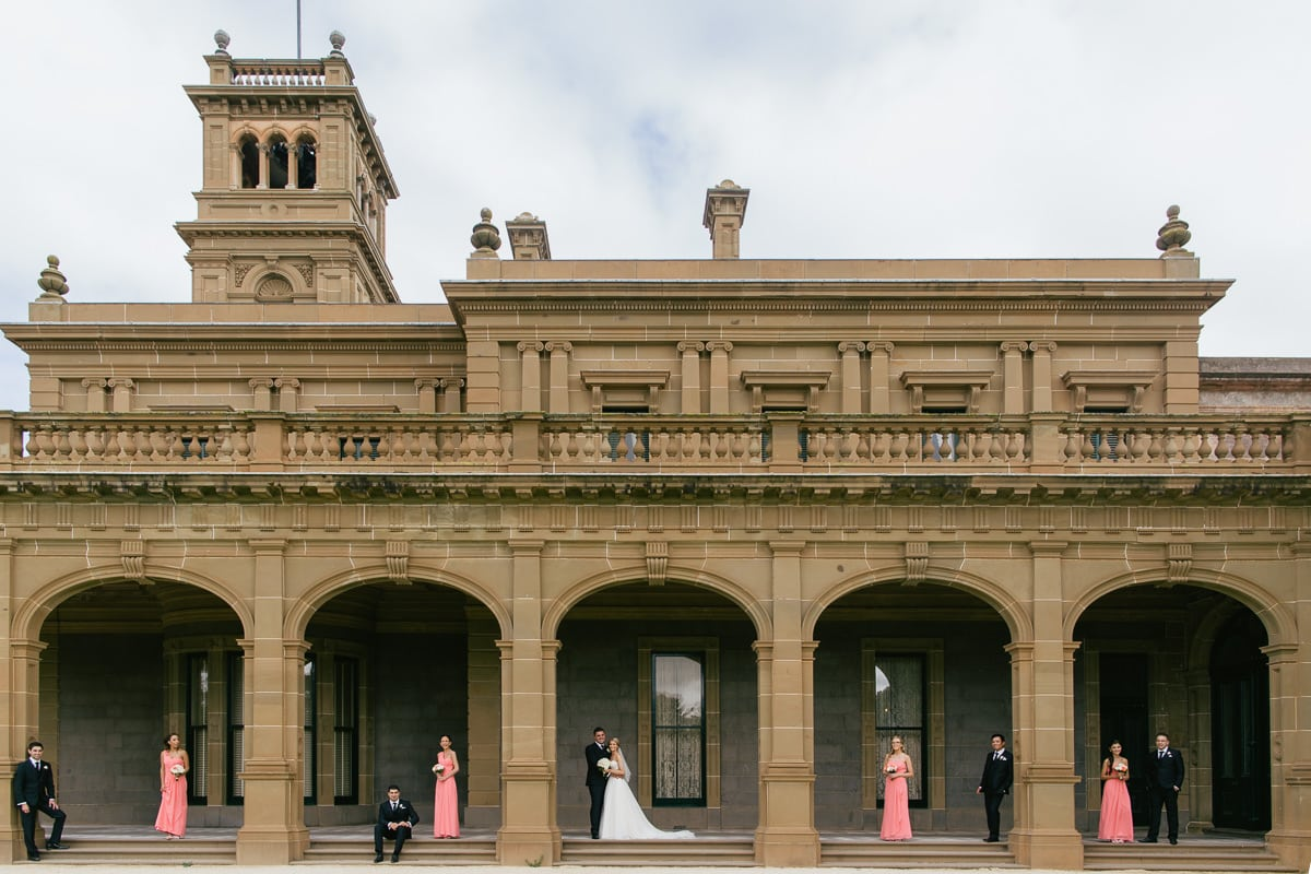 werribee mansion wedding photographer