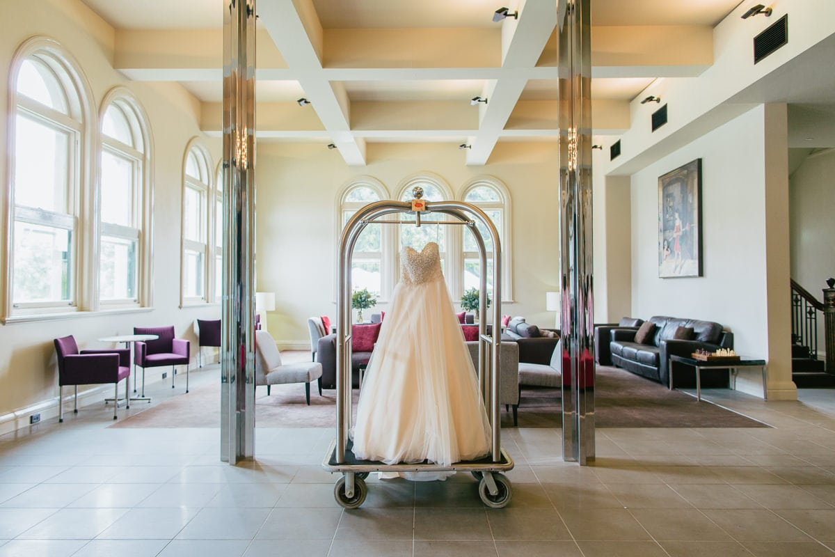 wedding dress - wedding photographer werribee mansion