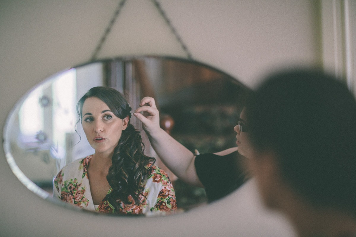 bride make up in the yarra valley