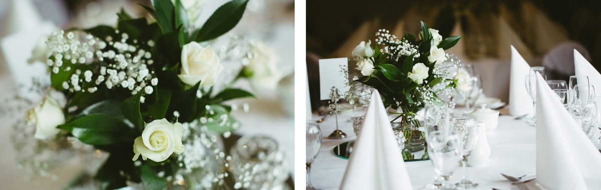 elegant wedding table decoration - wedding photographer