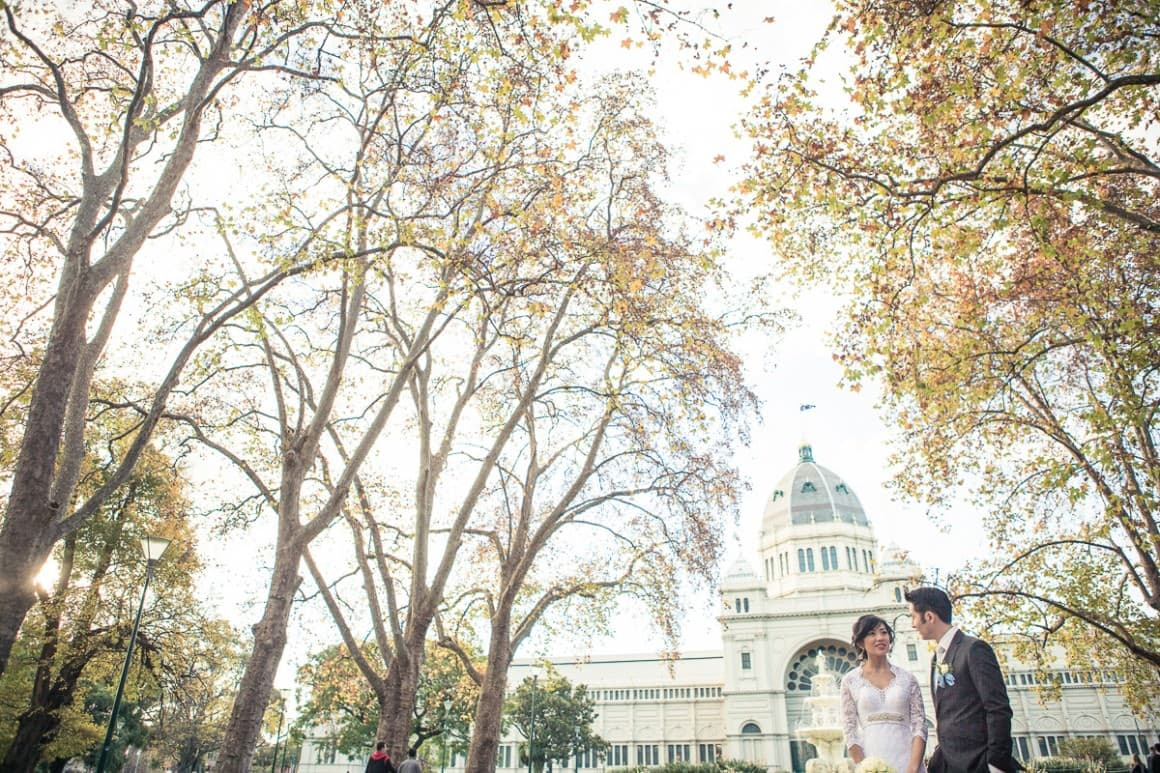 best wedding photographer melbourne - carlton exhibition building