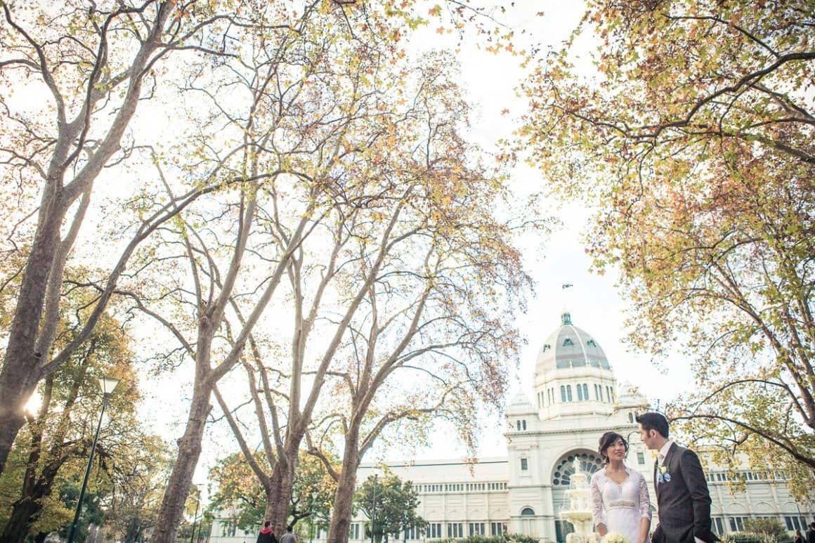 best wedding photographer melbourne - carlton exhibition building