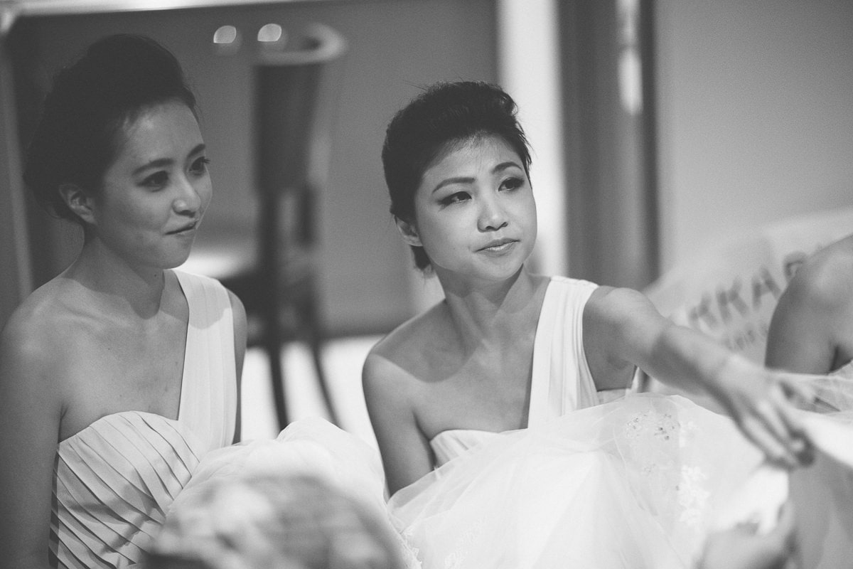 bridesmaids - asian wedding photography melbourne