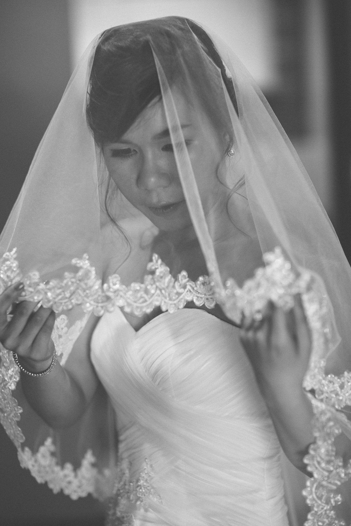 Melbourne Eastern Suburbs Wedding Photography - Chinese Birde Portrait