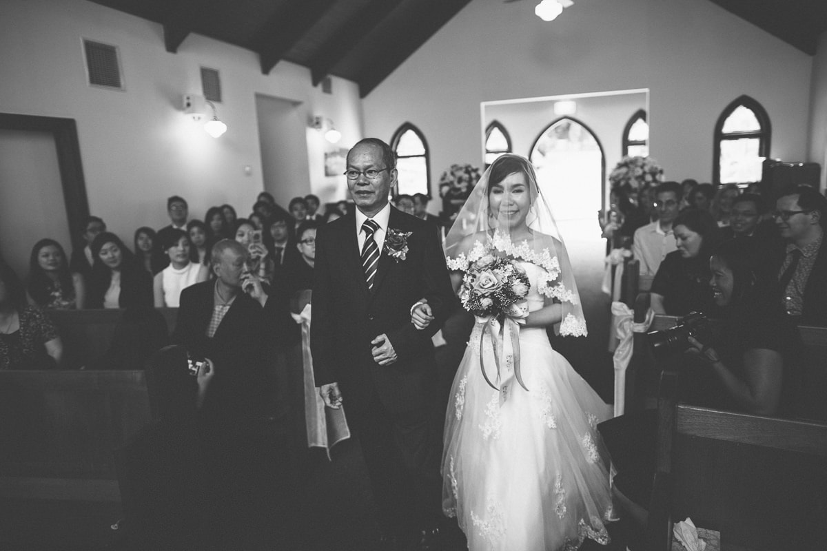 Melbourne Eastern Suburbs Wedding Photography - Chapel