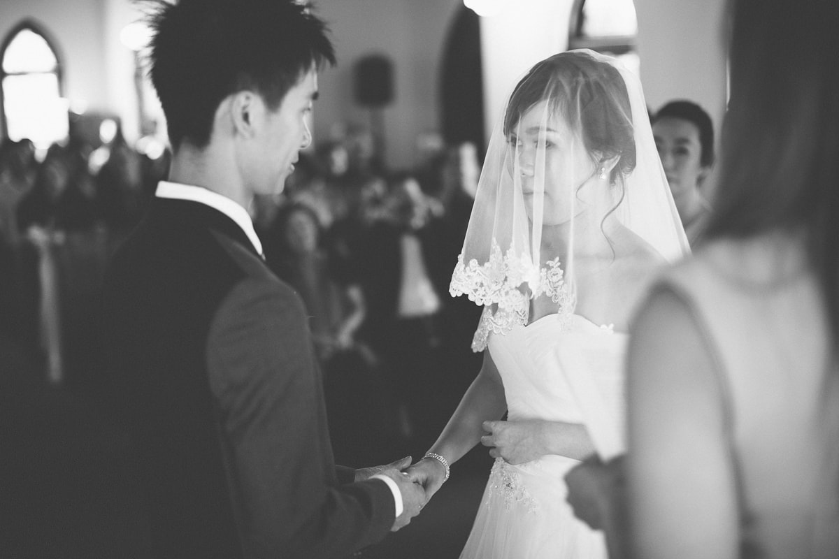 Groom and Bride - Chinese couple from box Hill gets married