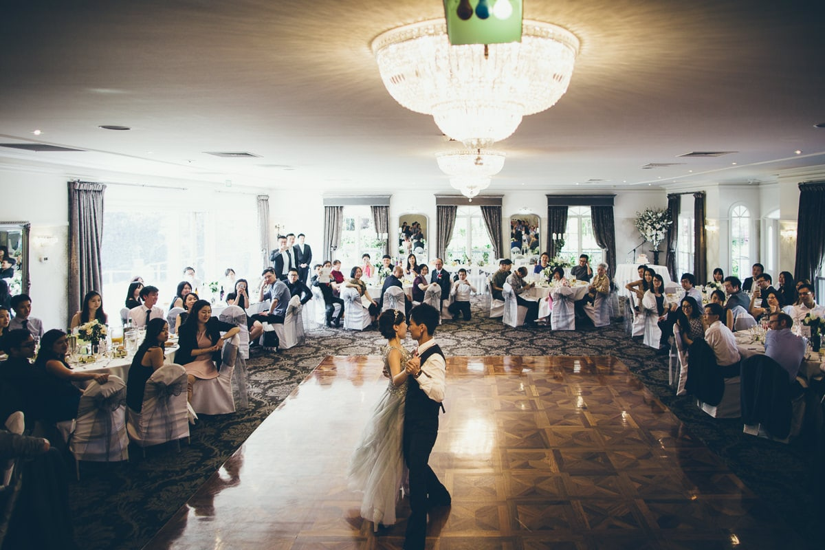 wedding dance at ballara receptions in eltham - wedding photography eltham