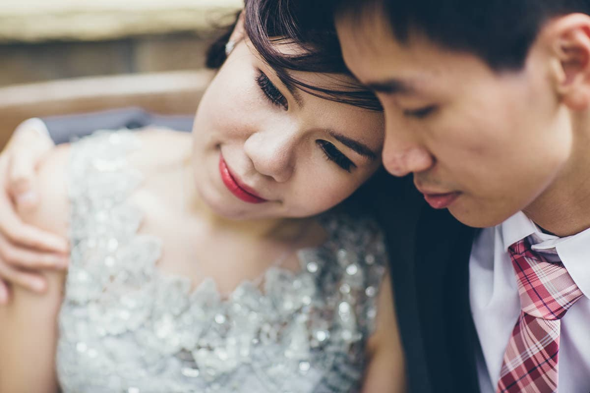 chinese wedding couple - wedding photographer melbourne