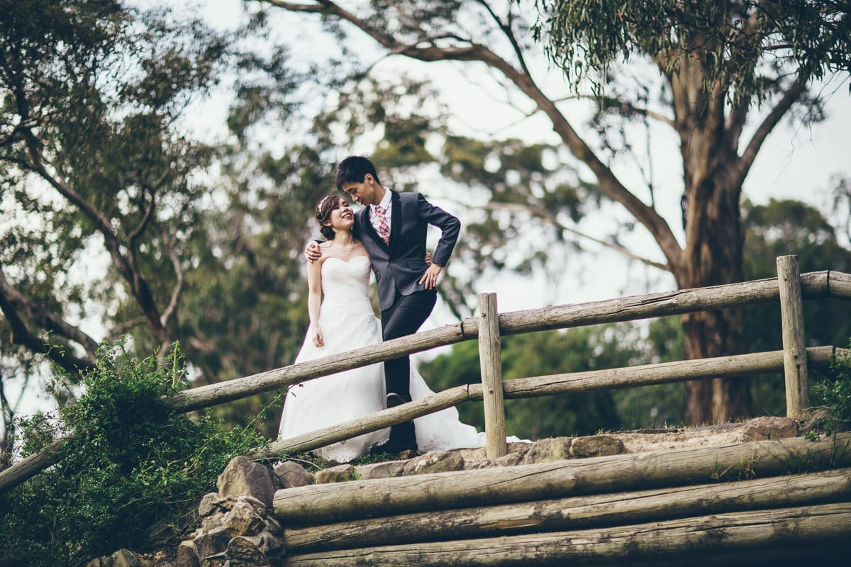 melbourne bushland wedding