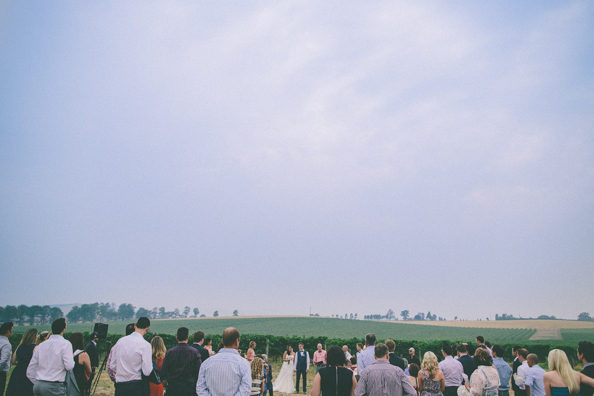 yarra valley vineyard ceremony
