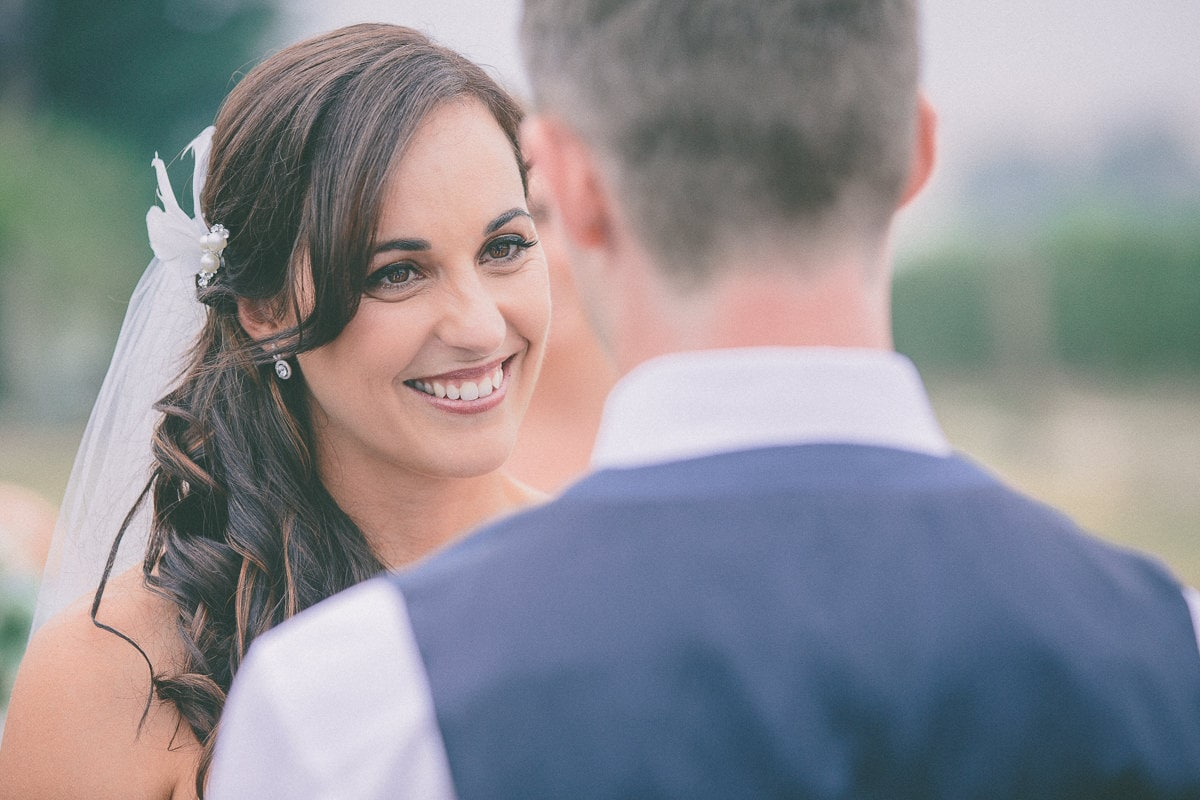 Bride looking at groom - Wedding Photo ideas