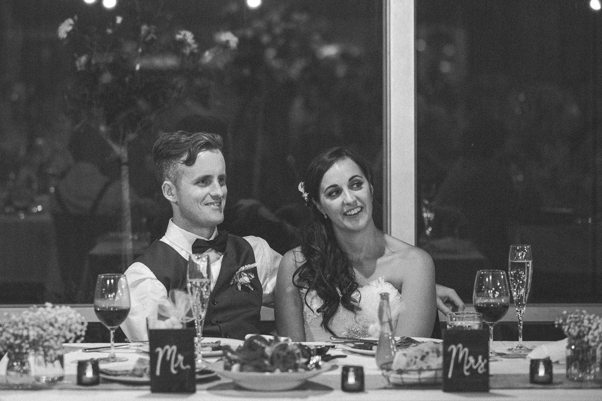 wedding couple in the yarra valley - emotion and love