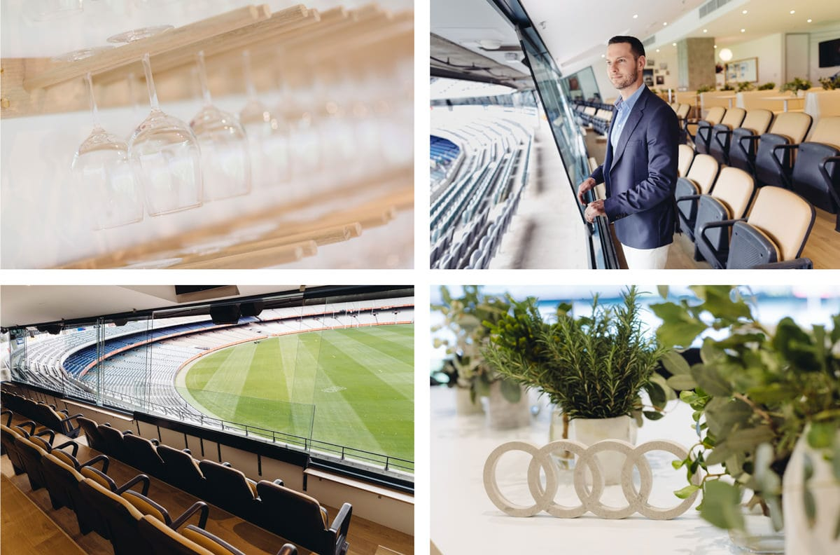 audi design suite at Melbourne Cricket Ground MCG suite
