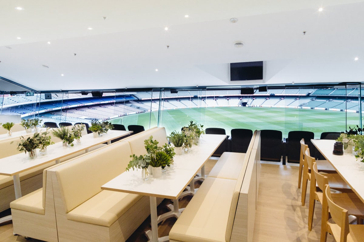 MCG Audi suite - Melbourne Cricket Ground event space