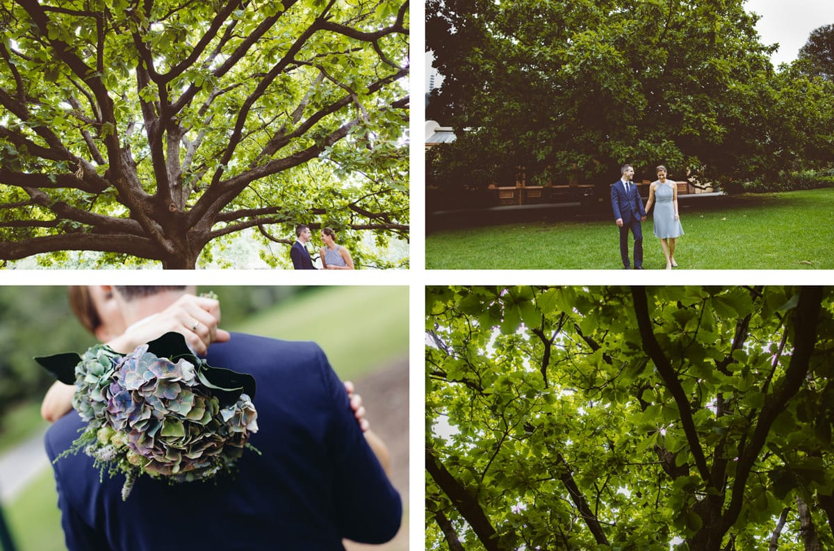fitzroy gardens wedding photographer - best wedding photos in melbourne parks