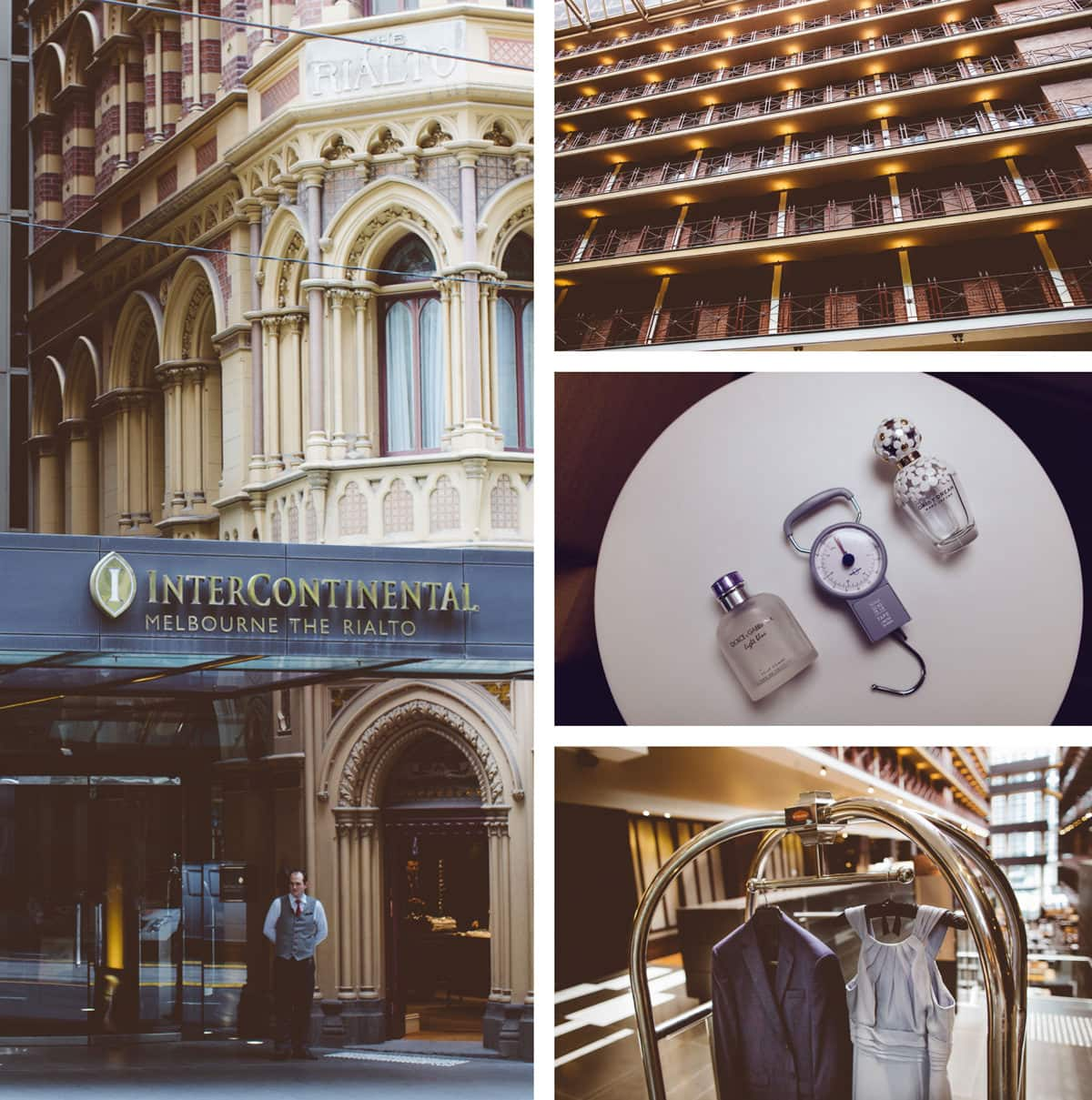 Wedding photographer at Melbourne Hotel Intercontinental