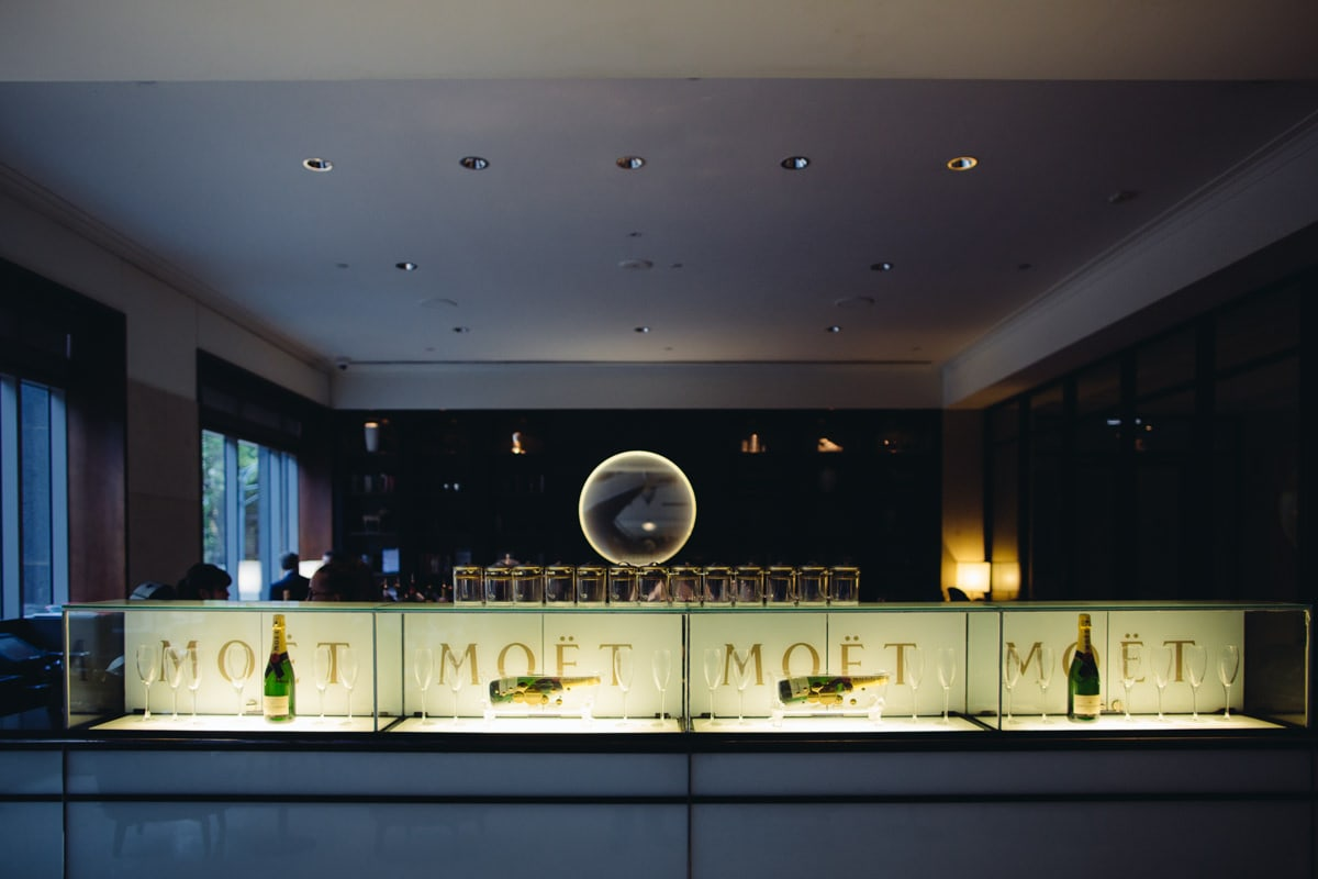 westin champagne bar and high tea at melbourne wedding