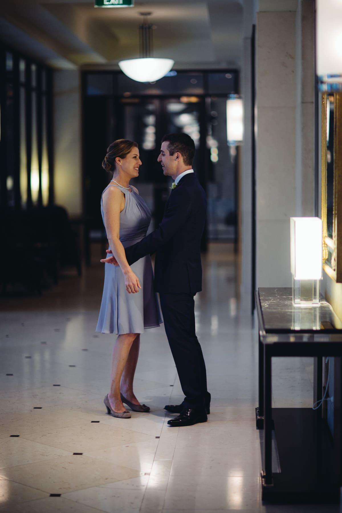 luxury wedding - couple in style