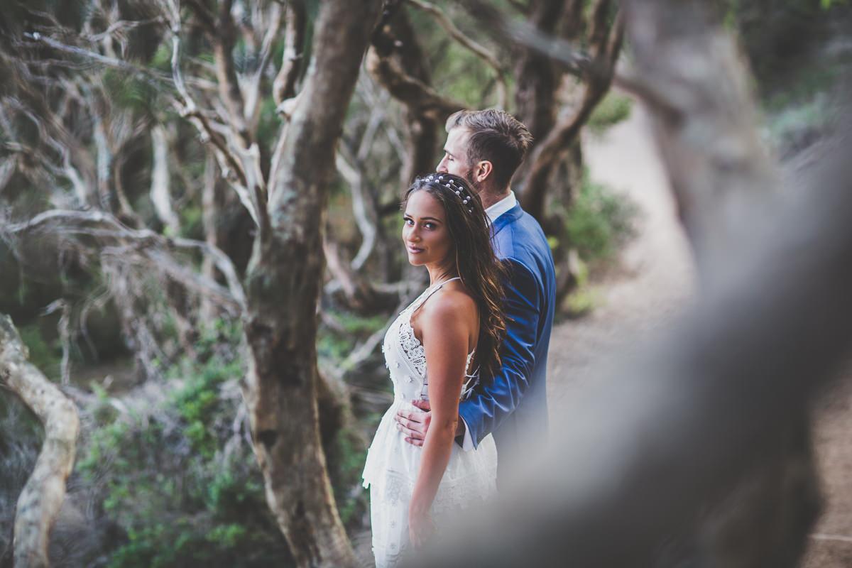 beautiful bride in a outdoor wedding styled shoot