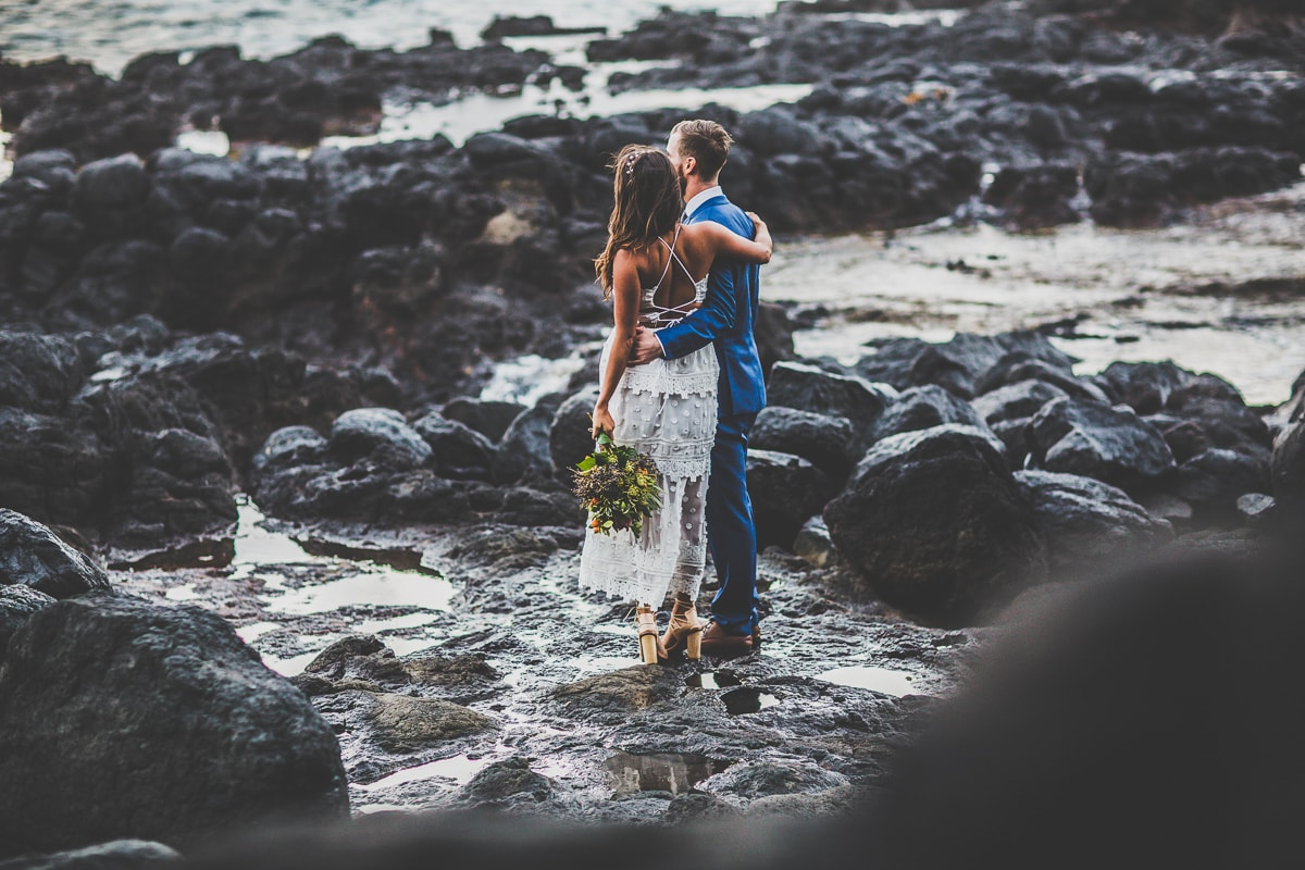 melbourne wedding photos - sea and ocean wedding photography - vintage style weddings with an indie look and feel