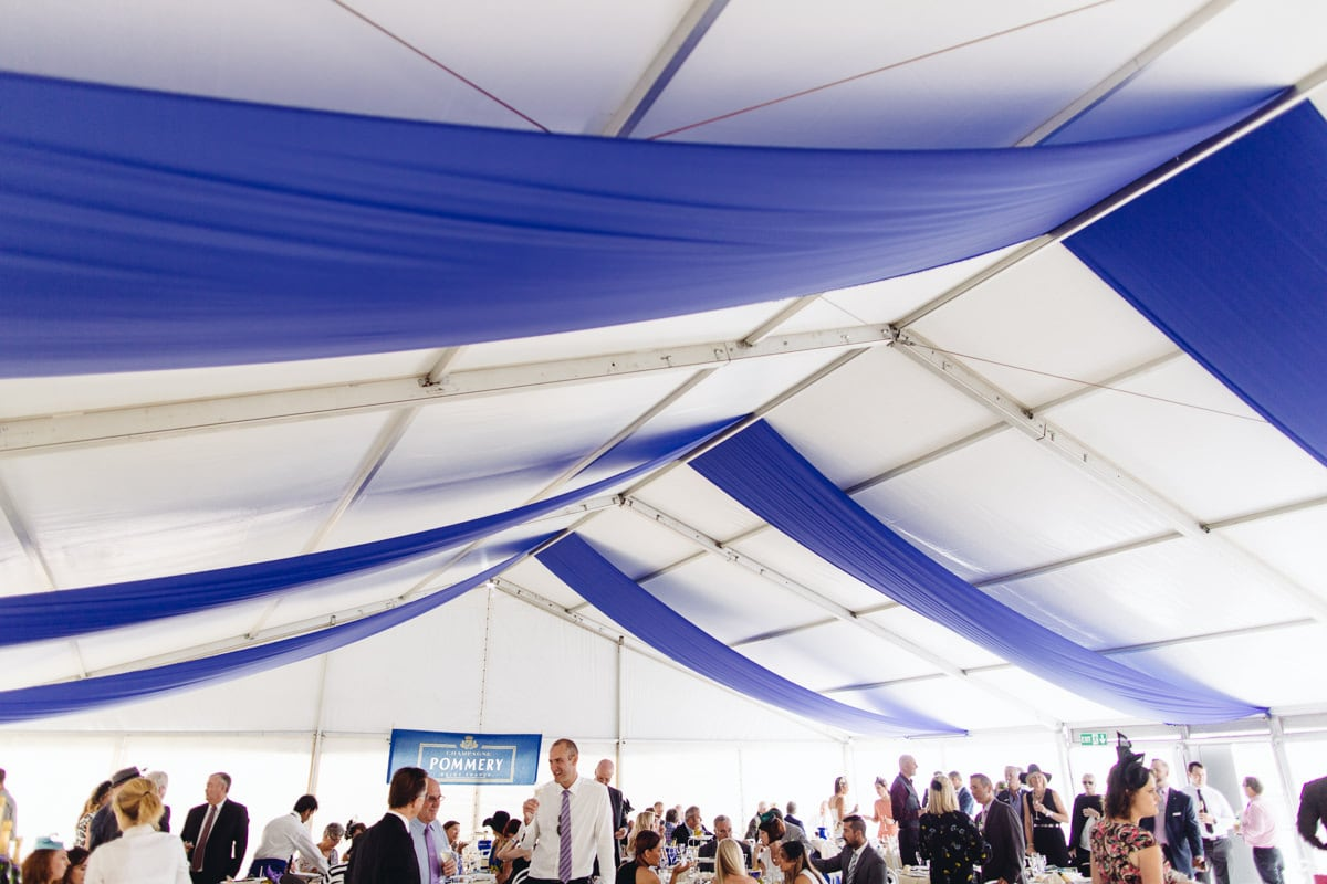 pommery Bmw marquee - mornington cup