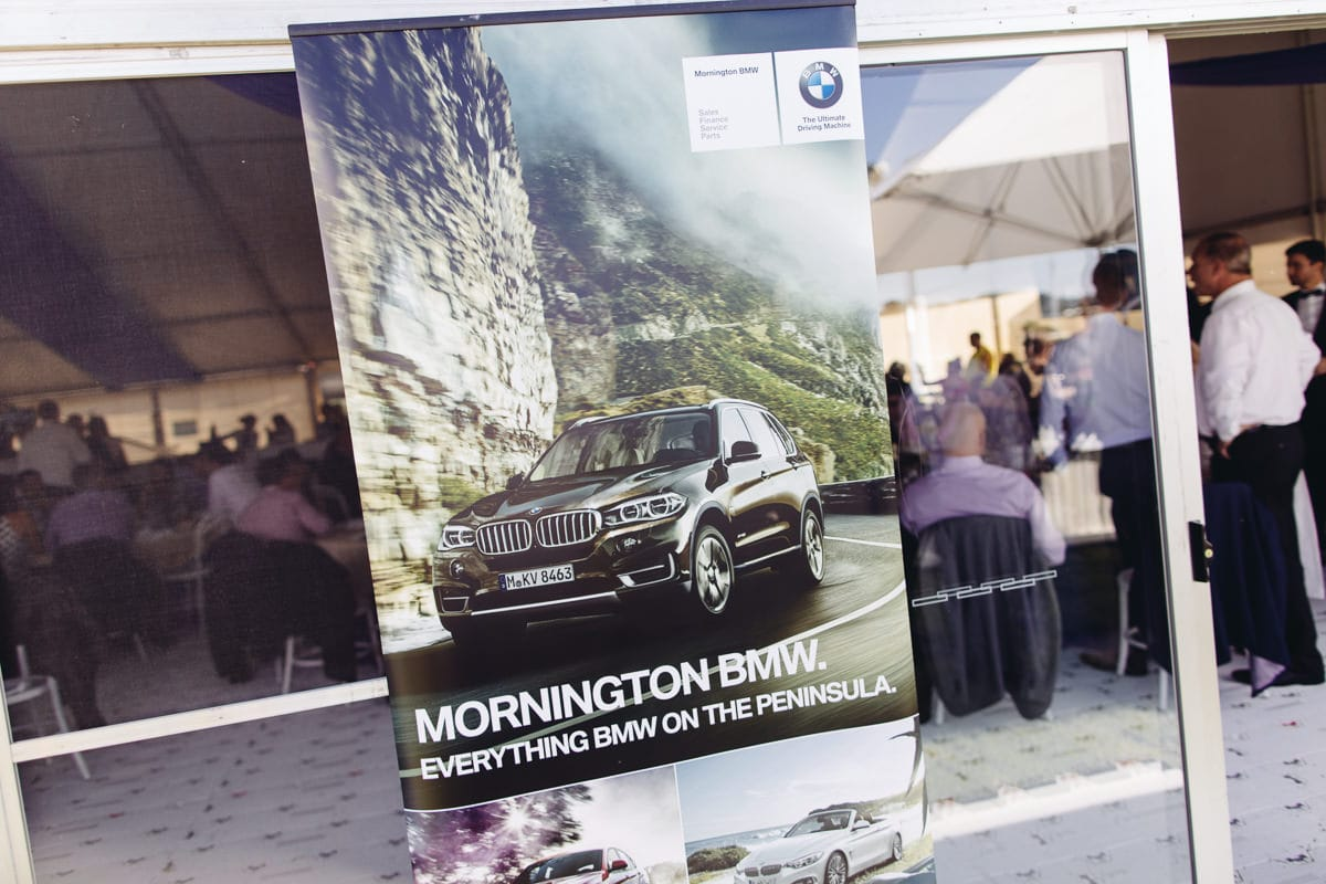 BMW mornington cup - advertising and pr photography in melbourne