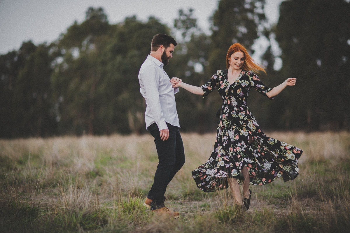 Vintage look photography in Melbourne - Couples, Engagements and Weddings in Melbourne