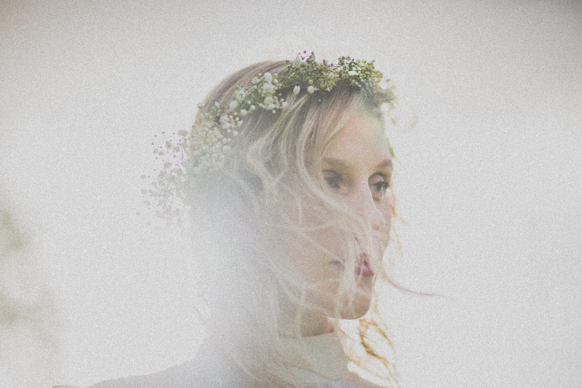 best boho style wedding in Melbourne - Wedding Photographer from Melbourne captures beautiful bride at wedding
