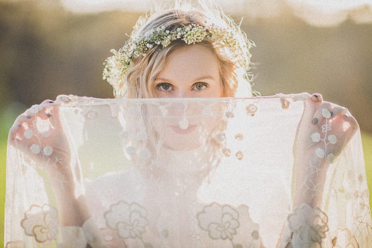 boho lace wedding photography